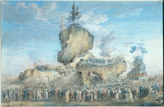 Naudet_Fête_de_l'être_Suprême_8_juin_1794