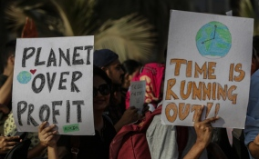 Global climate strike in Mumbai